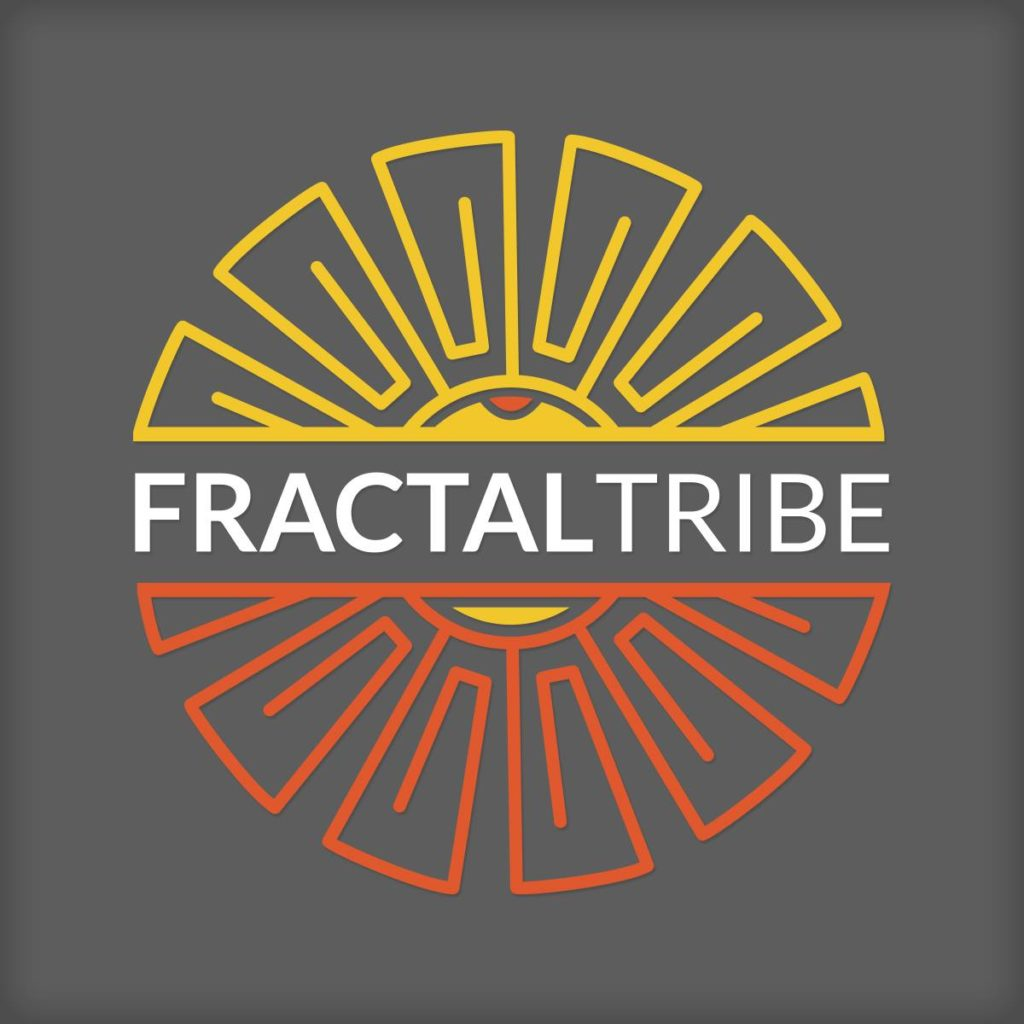 fractaltribe logo by hayley carloni