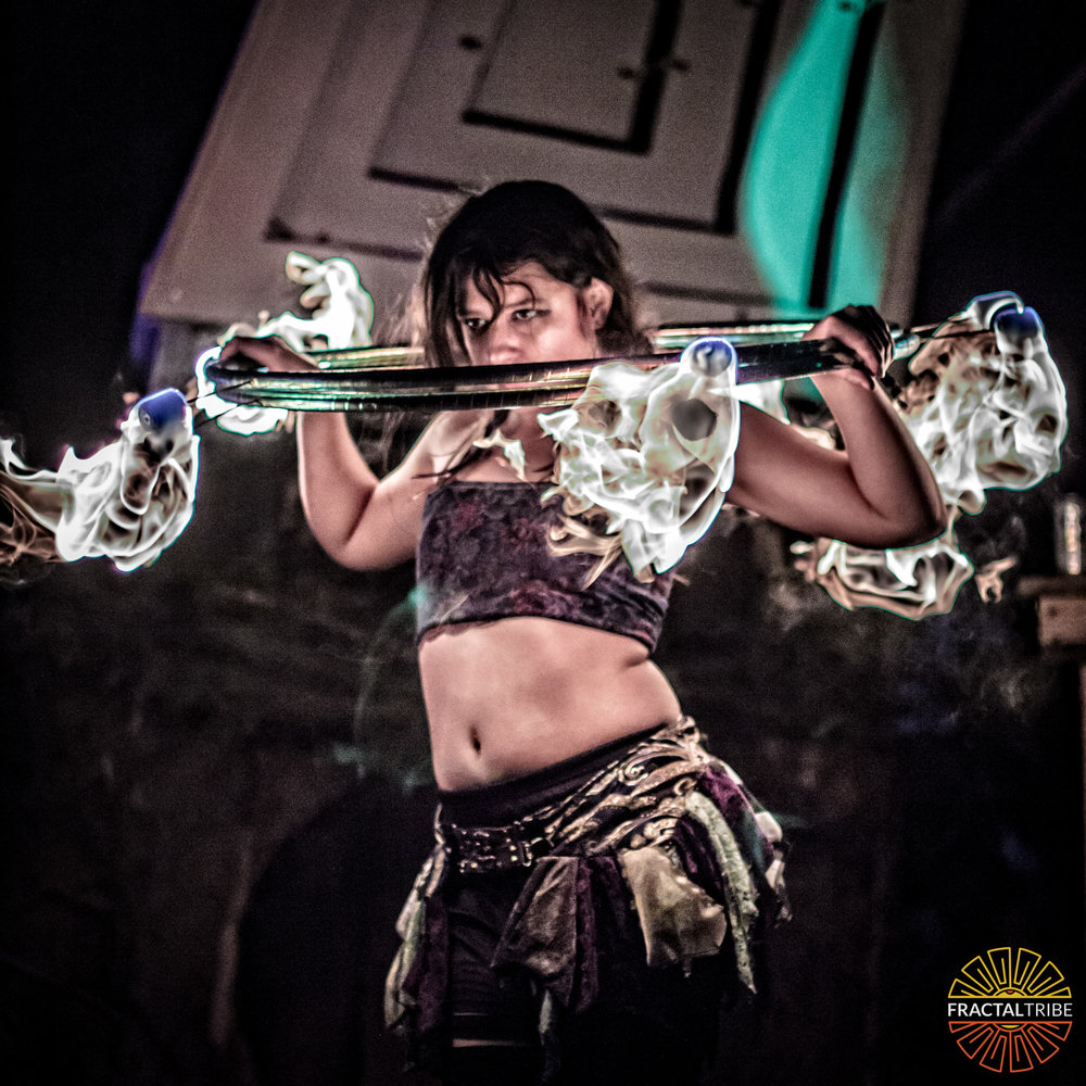 Fire Performer Photography at Fractalfest