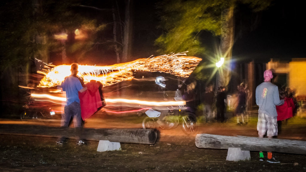 How Does a Photojournalist Photograph Fire Performers